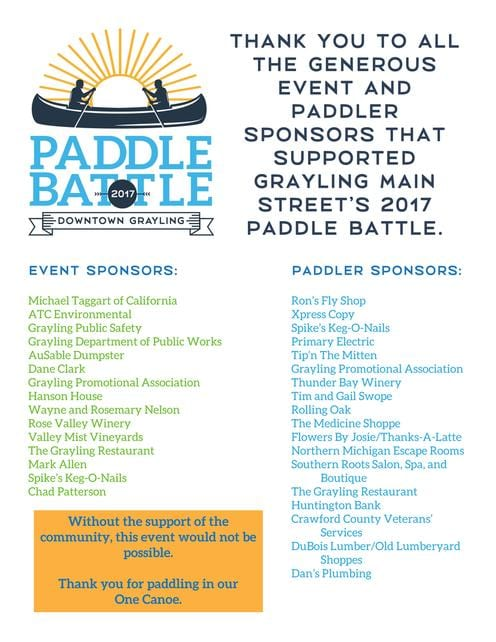 Paddle Battle