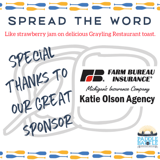 Sponsor Alert! THANK YOU Farm Bureau Insurance – Katie Olsen Agency